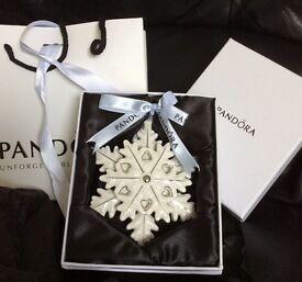 Pandora Christmas ornaments