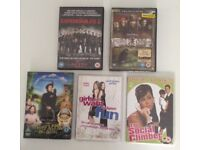 NEW sealed DVD films £4 THE LOT expendables 2 pirates Caribbean nanny McPhee rom coms