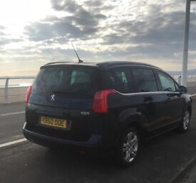 Peugeot 5008 1.6 hdi 110bhp exclusive auto 7 seats
