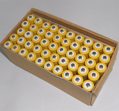 40 pcs Rechargeable NiCd AA 600 mAh Batteries for Solar-Powered Lights A40 MX