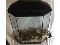 Aquarium Fish Tank with extras