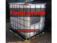 Animal water tank