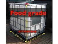 Water tank IBC