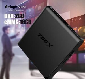 2016 T95X 2GB/16GB Android Box 6.0 OS includes MX3 Air Mouse.