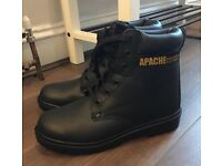 Apache men's safety boots size 8 never worn