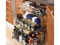 Wire basket for 400mm wide cupboard