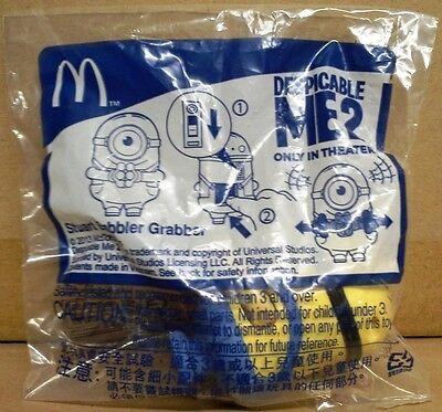 2013 Mcdonalds Despicable Me 2 Stuart babbler Grabber mip New rare