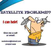Satellite  Installation Service - Aiming - Cabling & more!