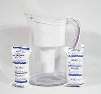 Brita Large Jug for countertop or fridge with THREE filters YES,