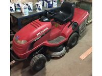 Honda 2417 RARE ELECTRIC TIPPING V-twin ride on mower