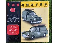 Post offices corgi diecast vans mint boxed ithers