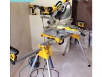Dewalt 240v chop saw used once stand not included £600ono