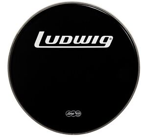 """28"""" bass drum front ludwig skin"""