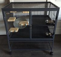 Cage (set up for chinchilla)
