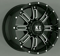 NEW! 17, 18 AND 20 INCH AVAILABLE! 5, 6 AND 8 LUG - GLOSS FINISH