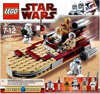 LEGO STAR WARS SET 8092 LUKE'S LANDSPEEDER163 PIECES 6 MINFIGS