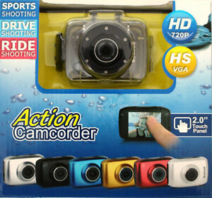 Gear-Pro High-Definition Sport Action Camera, 720p