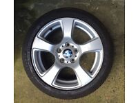"Set of 4 x BMW 17"" Alloy Wheels."