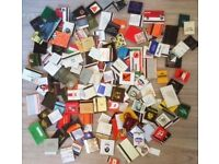 OVER 260 COMPLETE MATCHBOOKS MIXED 160 x U.K. 100 x Other ALL UNUSED