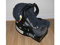 """Graco car seat with base from 0 """"Graco Junior Baby"""""""