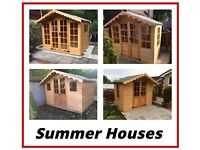 Summer houses (All Sizes) FREE DELIVERY & FREE INSTALLATION