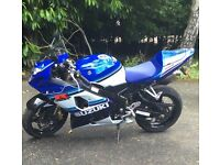 Truly stunning low miles GSXR 600 XK5 anniversary model Will take cheaper p/x