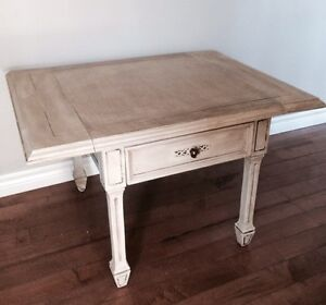 Stunning drop leaf coffee table