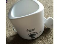 Tommee tippee bottle warmer used once