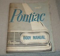 1961 PONTIAC  BODY SERVICE MANUAL (USED) $40.00 EACH O.B.O.