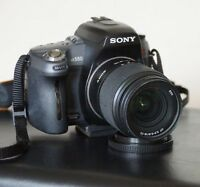 DSLR Camera Sony A550 with 18-70 Sal Lens