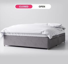 BNWP 6ft super king divan base with 4 drawers for sale