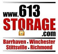 Stittsville Storage- Heated Units. Perfect for your stuff!