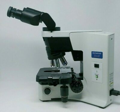 Olympus Microscope Bx45 With Tilting Head And 2x Objective
