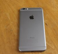 Unlocked barely used iPhone 6 Plus 128GB Space Grey