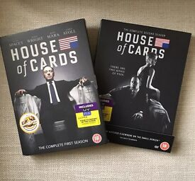 House of Cards Boxsets - seasons 1 & 2
