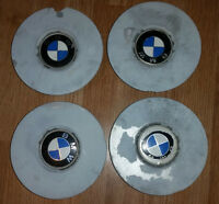 Set of 4 OEM center caps for BMW 1989-1995