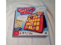 Guess Who? by Hasbro 2011. 2 Character Sheets People & Pets. Good Condition.