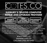 Cotes Co Computer Repair and Upgrade Services