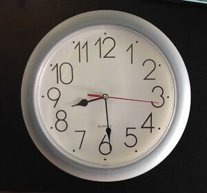 Wall clock, brand new