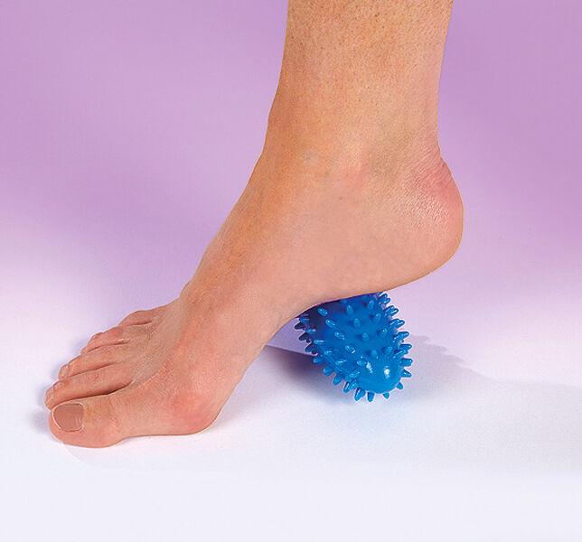 Blu Ovale Piede Collo Mano Massaggiatore A Rullo Palla Sollievo Dal Dolore
