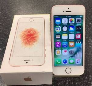 APPLE IPHONE SE 16GB UNLOCKED APPLE WARRANTY 31/7/17 Lawnton Pine Rivers Area Preview