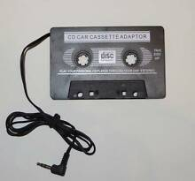 Car Tape Cassette Adapter ( Black or White ) Eastwood Ryde Area Preview