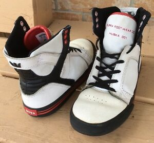 Grate white Supra shoes for boys