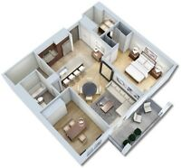 Sublet one room of two bedroom apartment