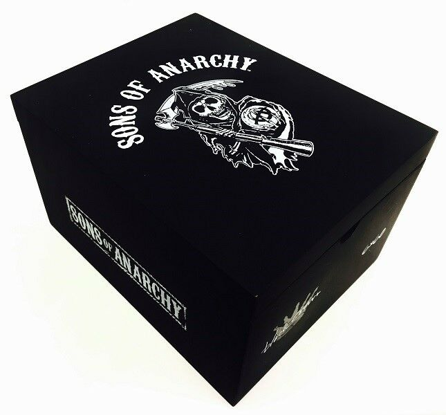 Sons of Anarchy Black Crown Cigar Box