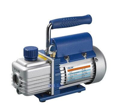 220v 1.5l 3.15 Cfm Rotary Vane Vacuum Pump 2pa For Hvac Ac Air Refrigerant 180w