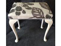 Foot stool dressing table stool
