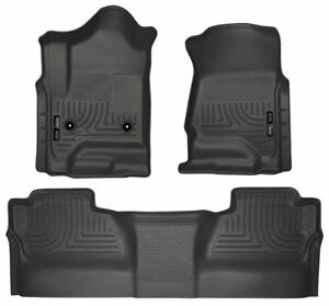 Husky Weatherbeater Front and Rear GM Crew Cab 2014-2018