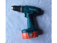 Makita 18V cordless drill for ,FULL working condition, With battery, no charger, £49 ,no offer , thx