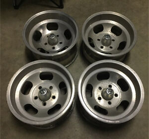 Vintage Western Wheel slot rims